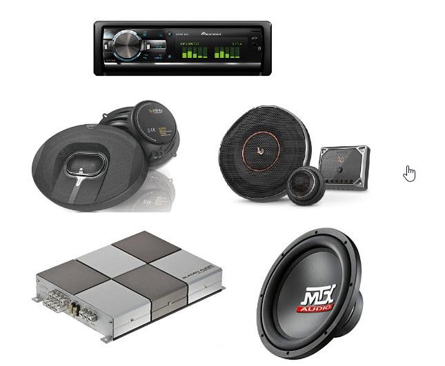 بخش های اصلی یک سیستم صوتی